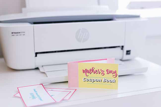 DIY Mother\u0027s Day Coupon Book - MyPrintly