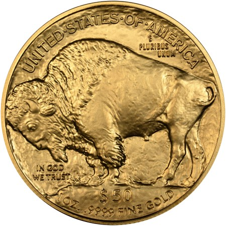 Gold Buffalo Mintage By Year