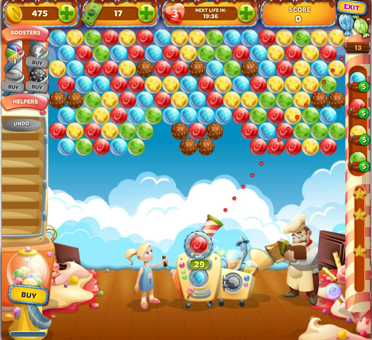 Bubble Games Candy Bubble Land Free Casual Games