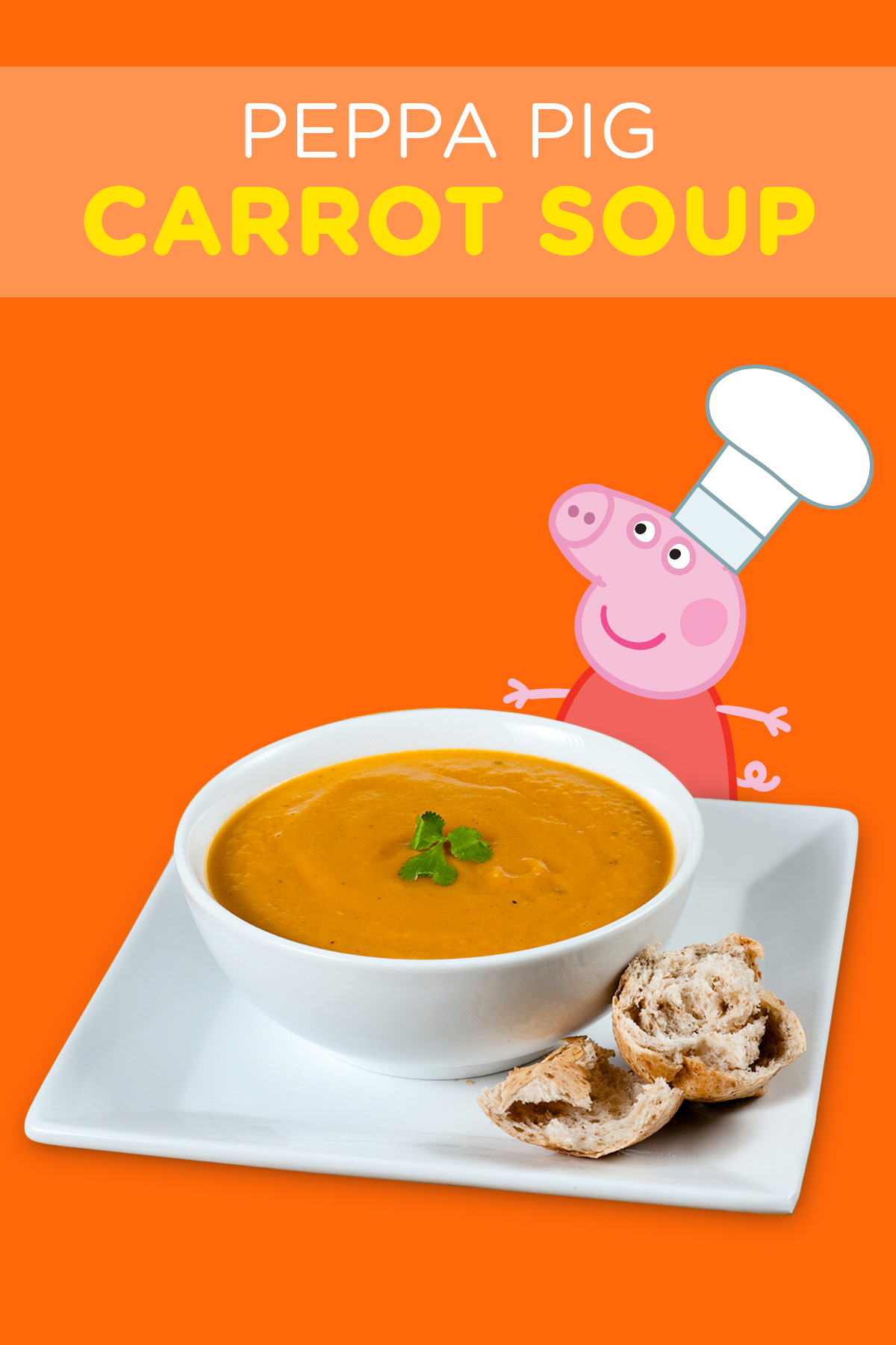 Cuisine Peppa Pig Peppa Pig Carrot Soup Recipe Nickelodeon Parents