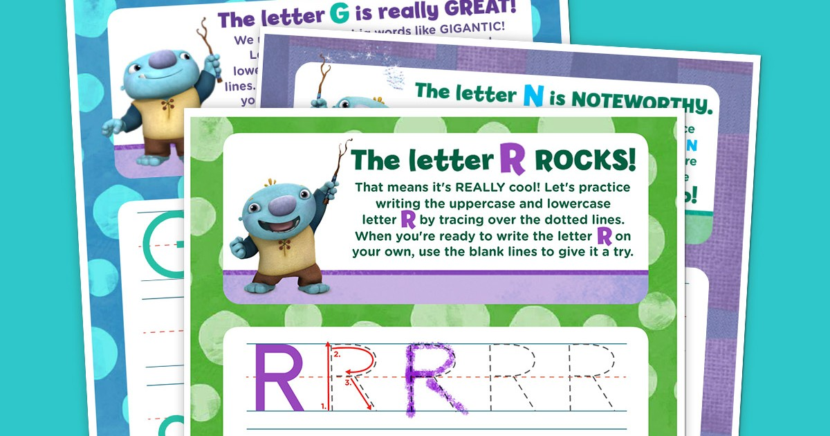 Wallykazam! Letter Tracing Pack Nickelodeon Parents