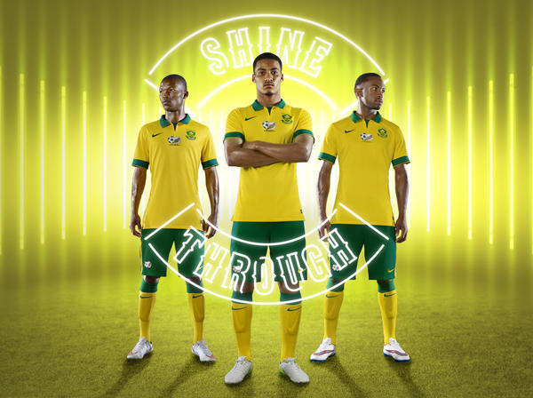 Protea Flower Logo South Africa And Nike Unveil National Football Team Kits