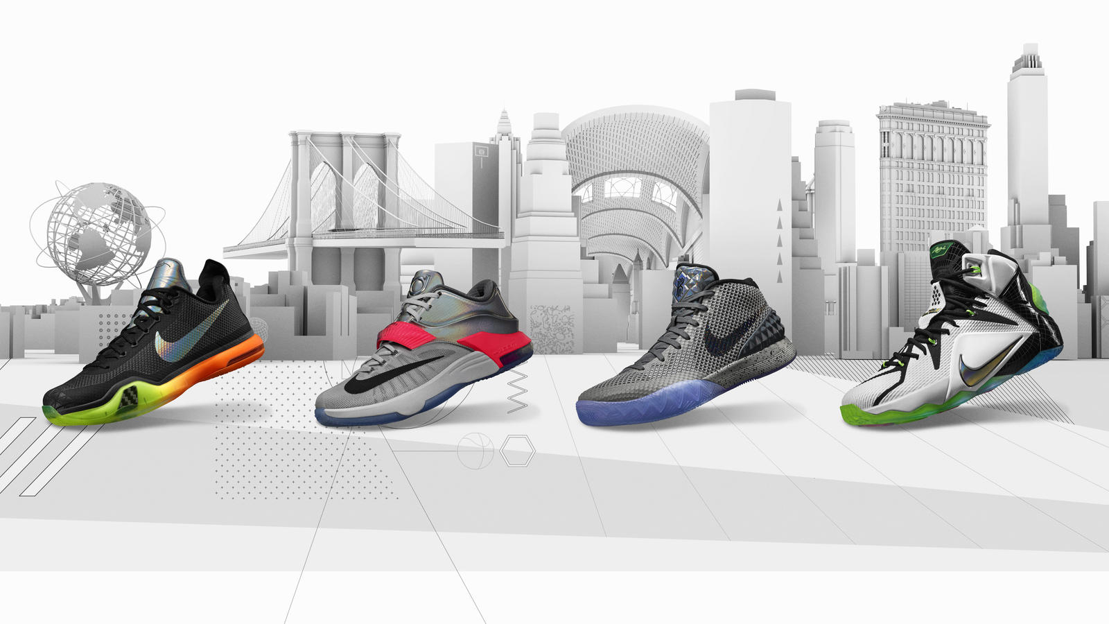Nike Basketball Collection Honors Nycs Iconic Cityscape