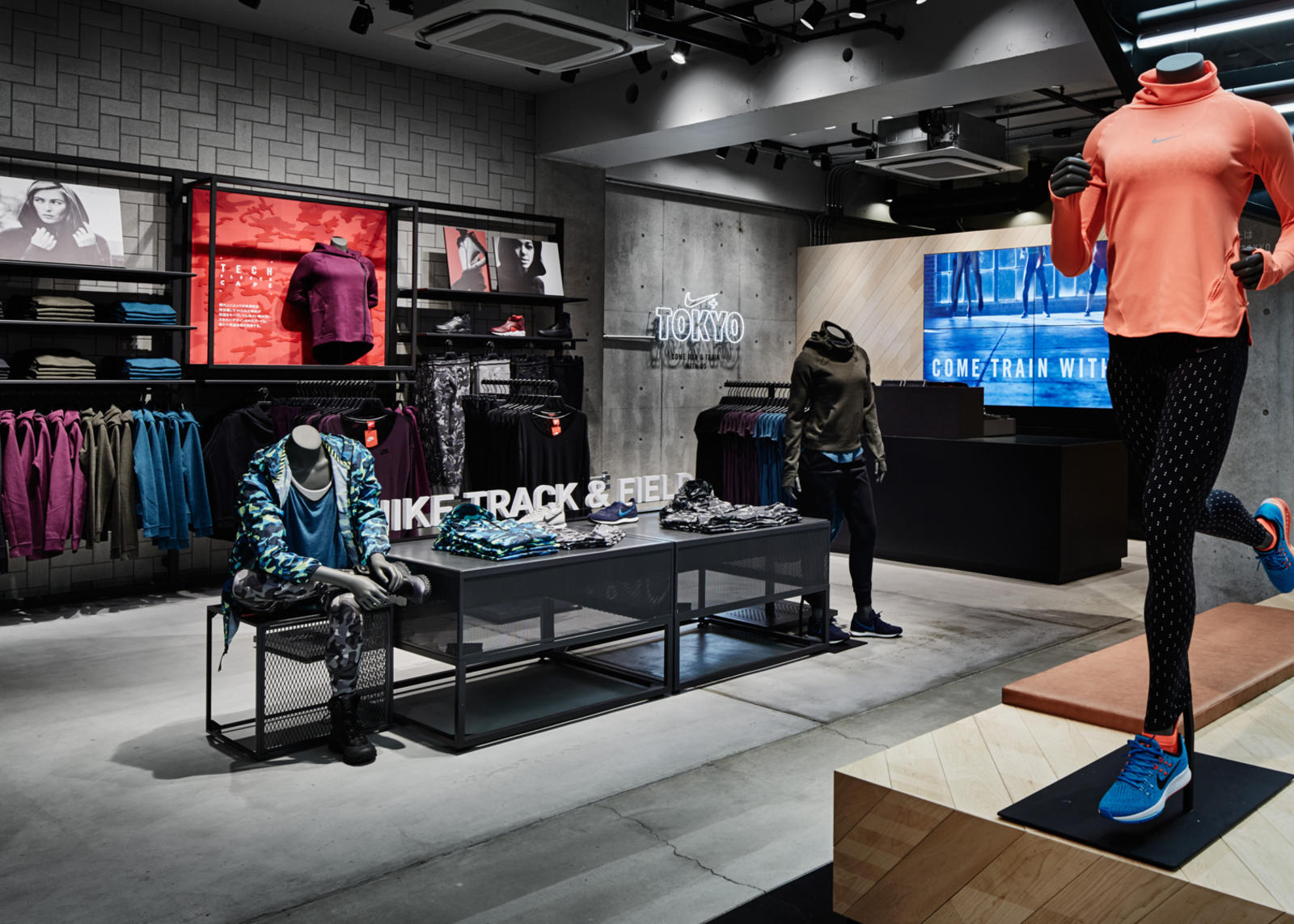 Store Exterieur Amazon Nike Brings First Running Concept Store To Tokyo Nike News