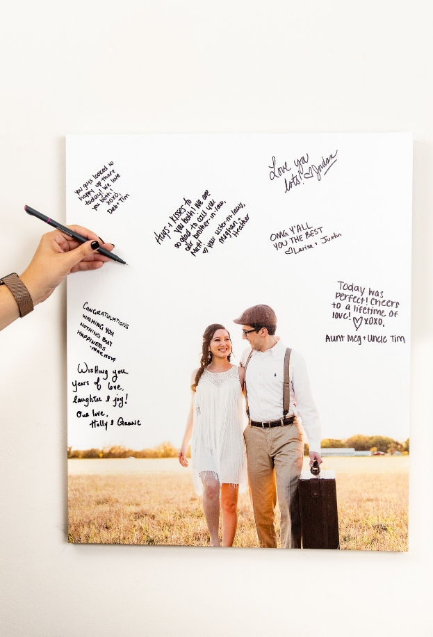 4 Ideas for Alternative Wedding Guest Books Nations Photo Lab