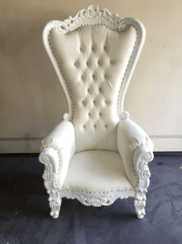 Victorian Throne Chair - Ocean Tents