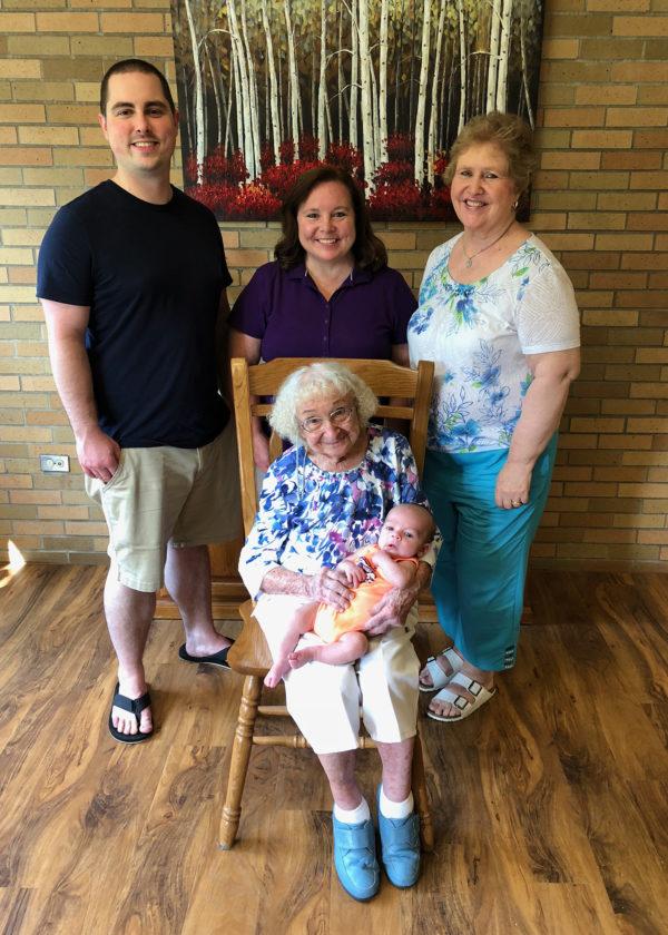 Family celebrates 5 generations News, Sports, Jobs - Adirondack - 5 generations