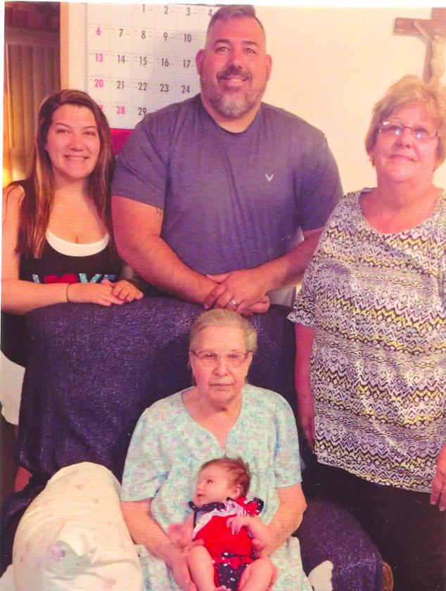 5 generations Miller News, Sports, Jobs - Altoona Mirror - 5 generations