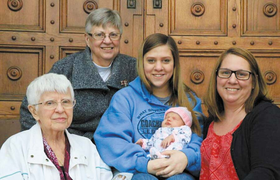 5 generations together News, Sports, Jobs - The Mining Journal