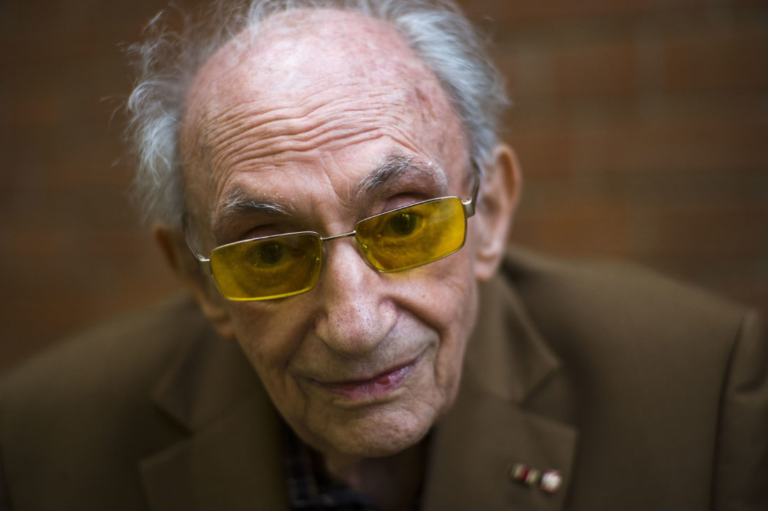 Holocaust Survivor Recalls Night Of Broken Glass Horrors