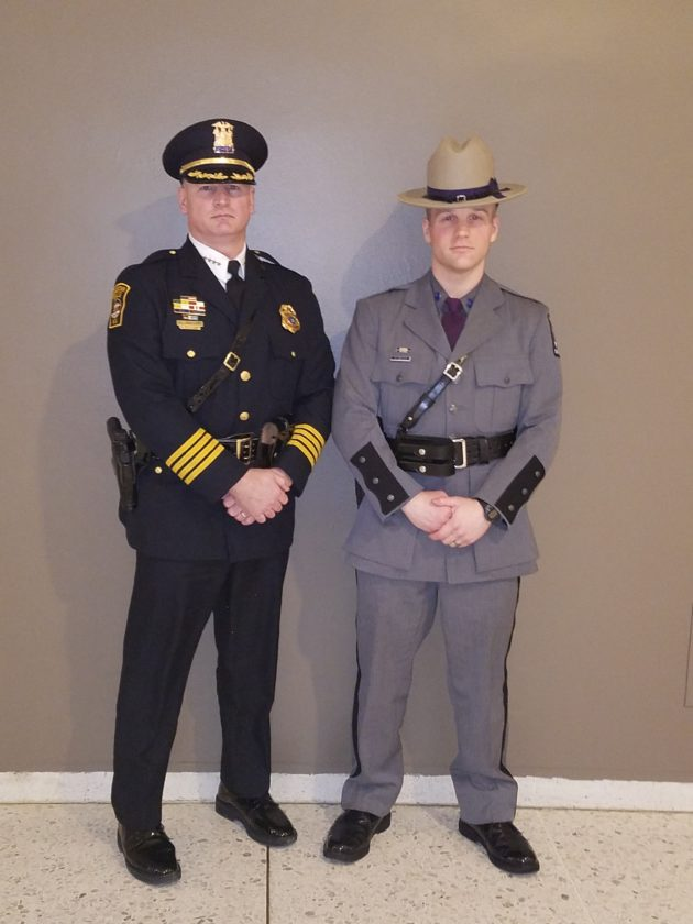 Chief Snellings\u0027 Son Among Graduates Of State Police Academy News - Nys University Police