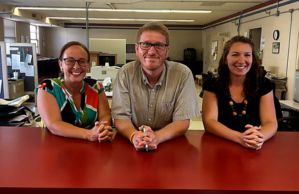 New managing editor, two reporters join The News staff News