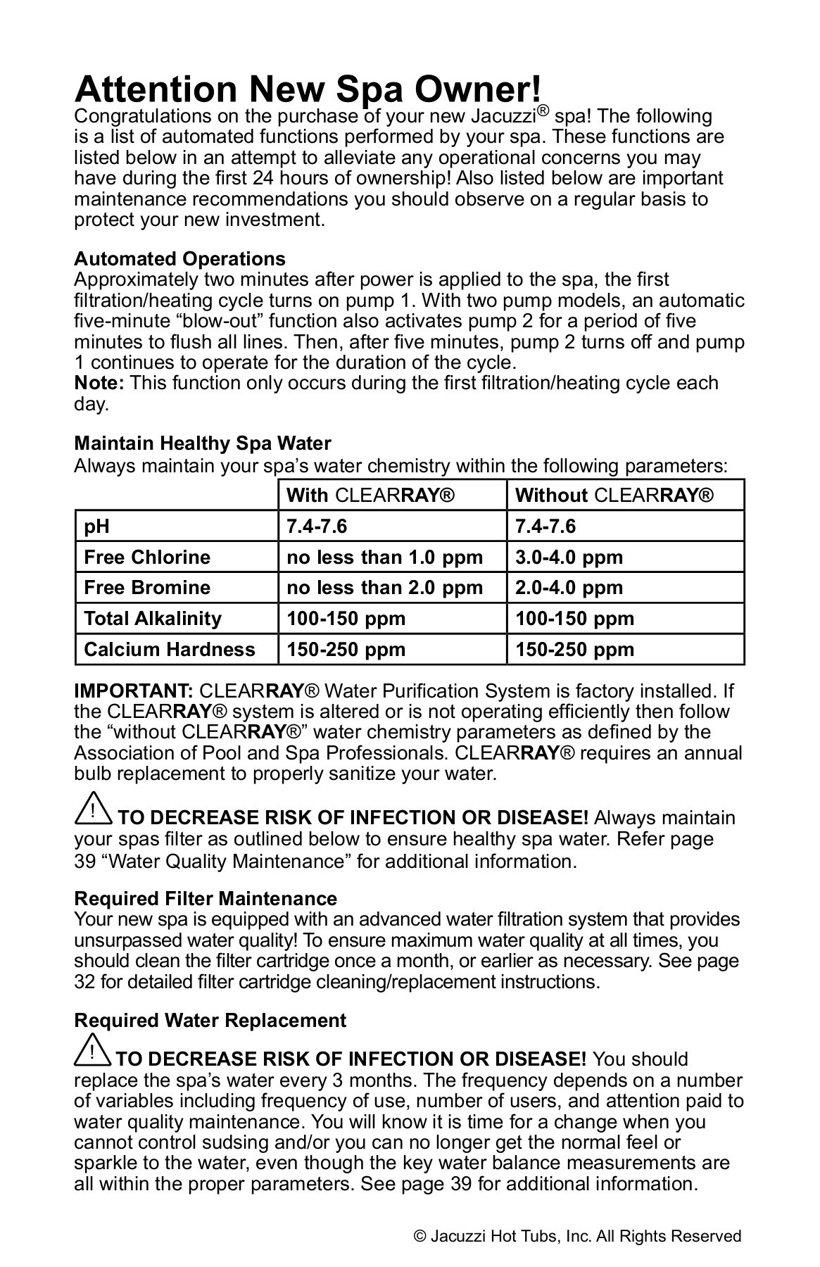 Jacuzzi Pool Manual J 200 Hot Tubs Owners Manual Jacuzzi In Iowa