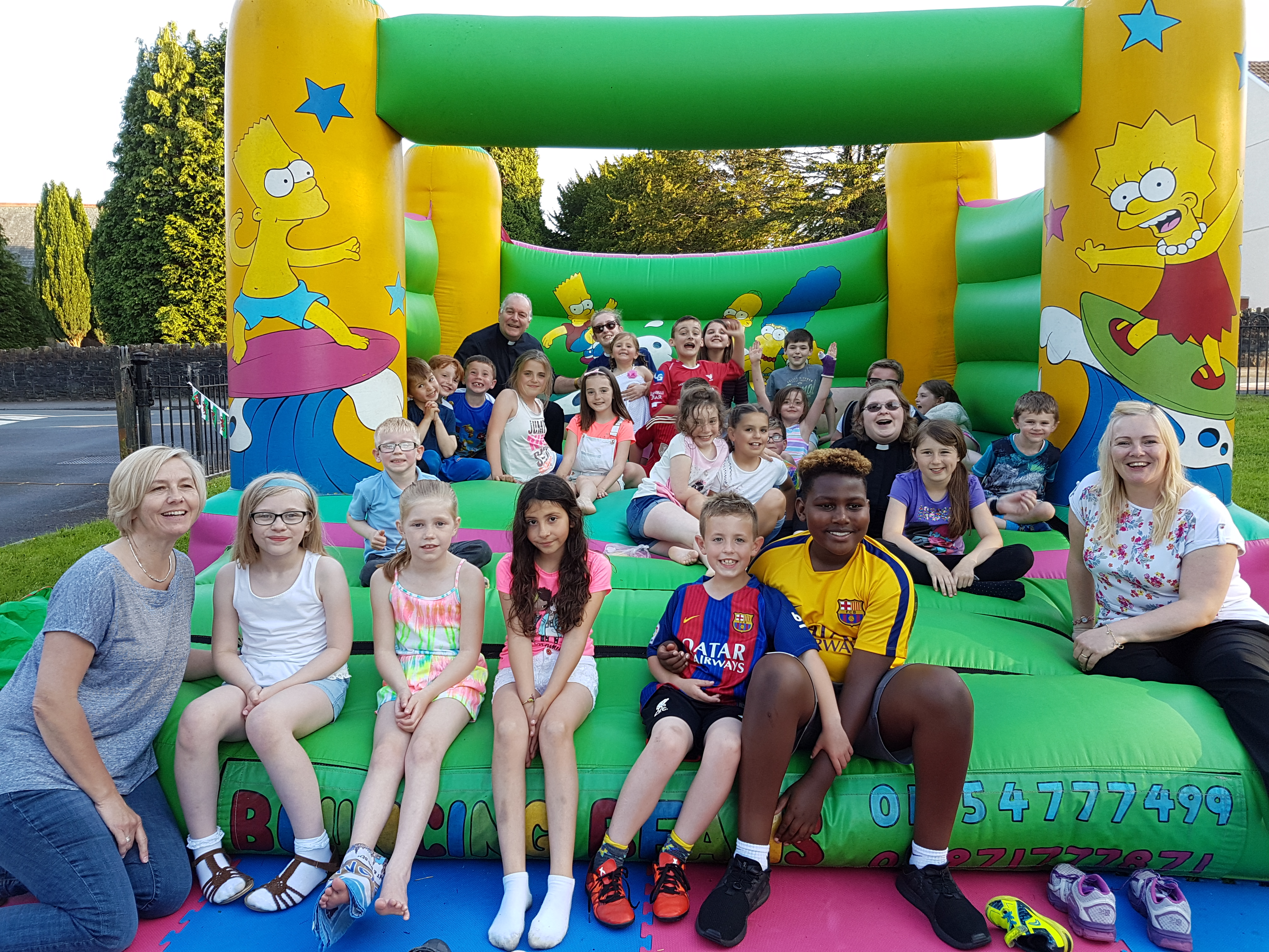 Junior Youth Sponsored Bounce By The Junior Youth Club The Churches Of Dafen