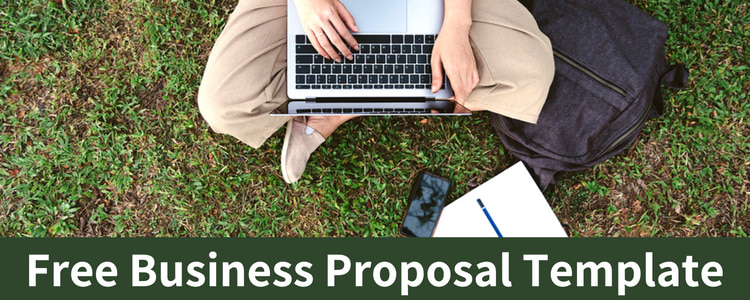 Business Proposal Template\u2014Free Download Bplans