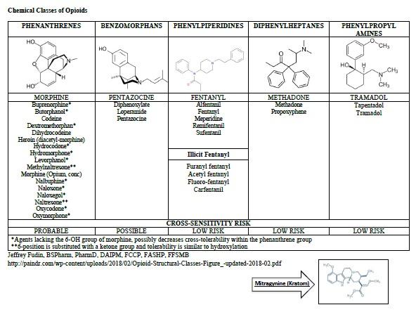 Opioid Allergy, Pseudo-allergy, or Adverse Effect?