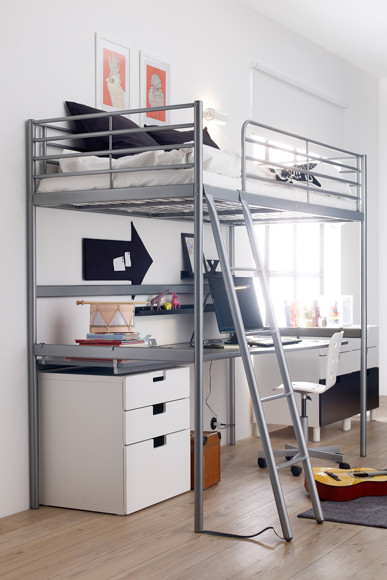Bed Loft 11 Full Size Modern Loft Beds For Adults Apartment Therapy