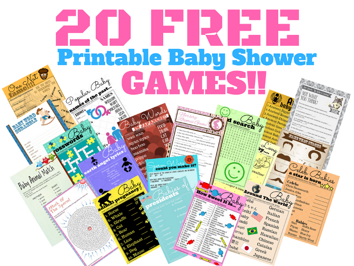 print my baby shower baby shower printable games made easy