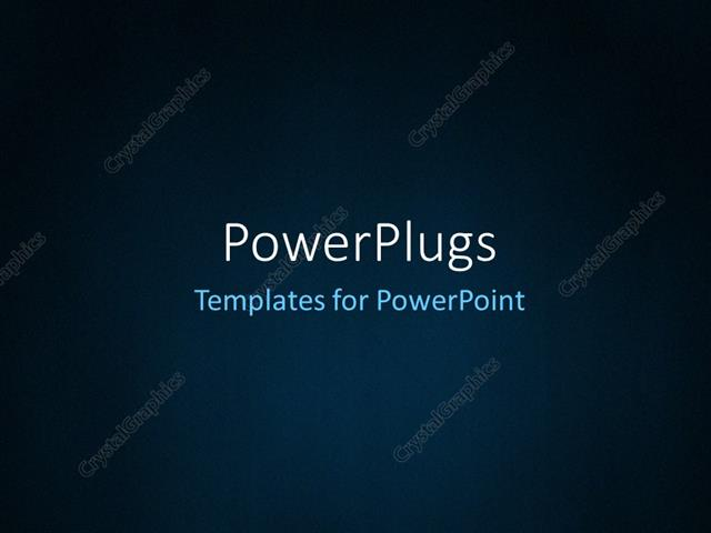 PowerPoint Template Abstract dark blue background with grain