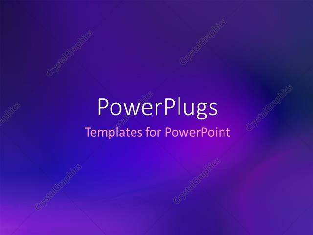 PowerPoint Template Abstract dark blue gradient smooth background