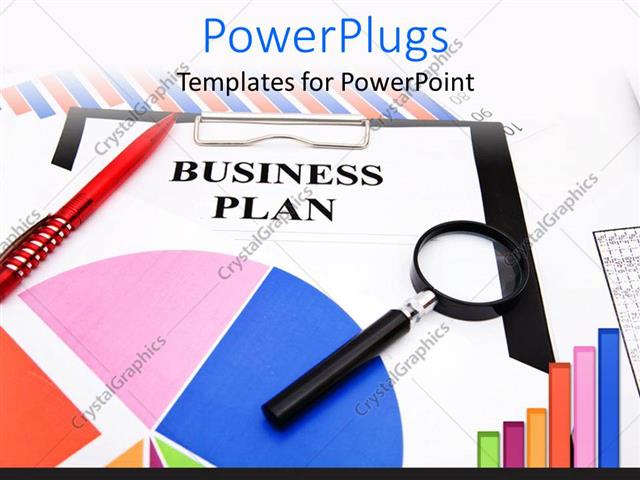PowerPoint Template a graph and a paper with a text that spell out - graph paper powerpoint