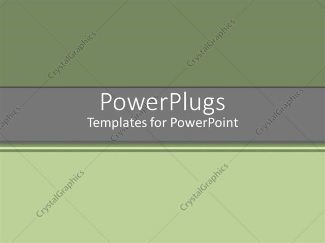 PowerPoint Template Grey and lime green sophisticated background