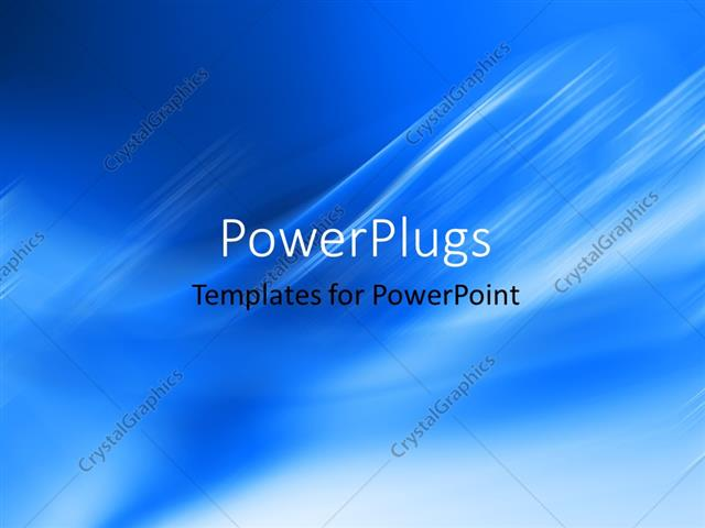 PowerPoint Template plain clear navy blue blue and white cloudy - navy powerpoint templates