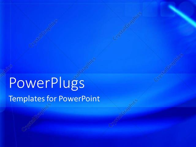 PowerPoint Template a plain dark blue colored background with wave