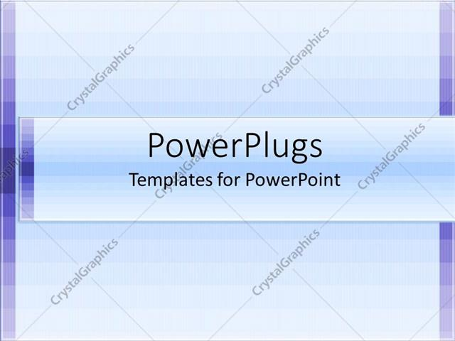 PowerPoint Template purple patches with multiple grid lines and