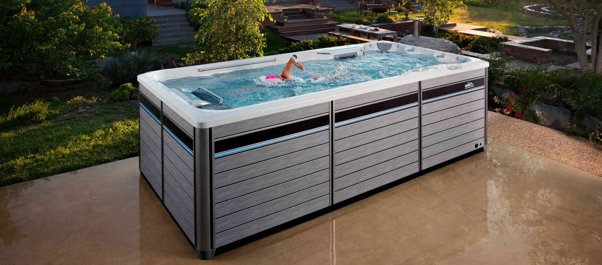 Jacuzzi Endless Pool Endless Pool Swim Machine Fitness Systems