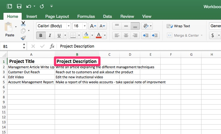 Project Tracking Template in Excel - Priority Matrix Productivity - project prioritization template
