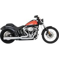 new vance and hines vance & hines Pro Pipe Chrome Exhaust ...
