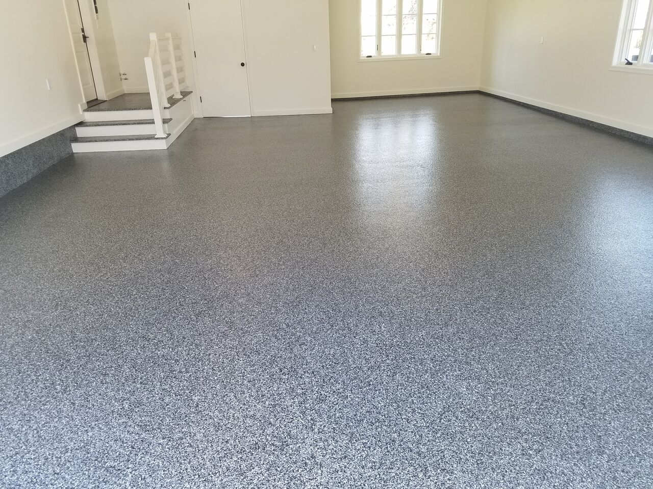 Garage Epoxy With Flakes Top 5 Ways Epoxy Can Positively Impact Your Home S Concrete Floors