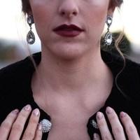 Abba Earrings in Crystal by Loren Hope - Rocksbox