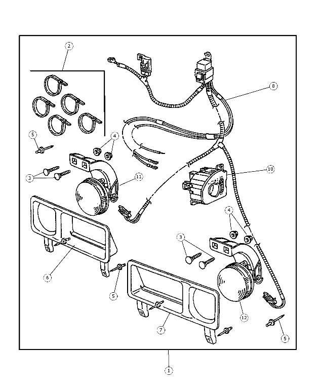 2008 dodge ram wiring diagram headlights fog
