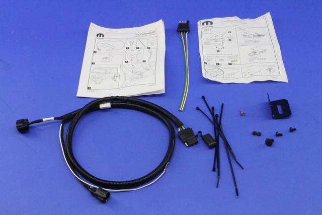 Trailer Tow Wiring Harness - Mopar (82209183AB) Mopar Wholesale Parts