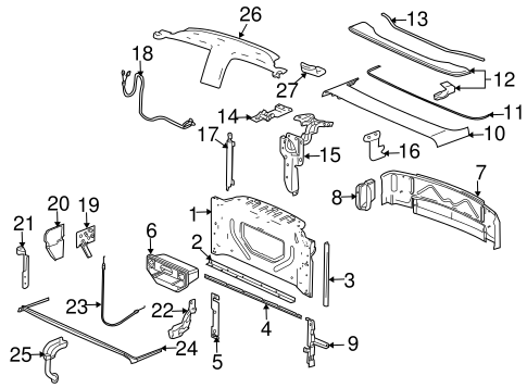 2005 chrysler pacifica rear suspension diagram as well chrysler