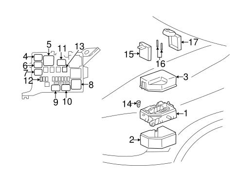 1995 toyota 4runner window wiring diagram