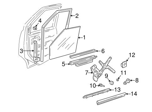 2000 buick lesabre window diagram
