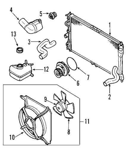 03 buick rendezvous fuse box diagram