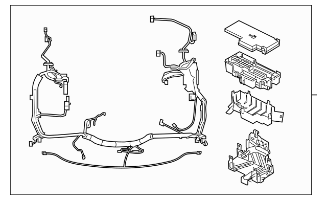 1955 ford factory wiring harnes