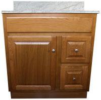 Oak Bathroom Vanities - RTA Cabinet Store