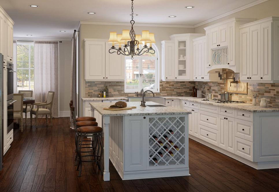 Cabana White Kitchen Cabinets Rta Cabinet Store