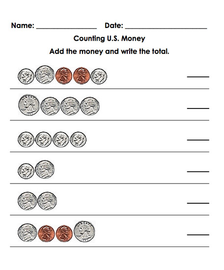 Math Tools - Create Your Own Addition, Subtraction, Multiplication - subtracting money worksheet