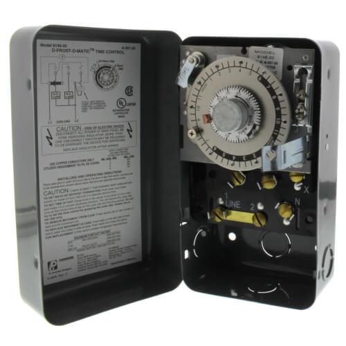 8145-20 - Paragon 8145-20 - 208/240V Defrost Timer