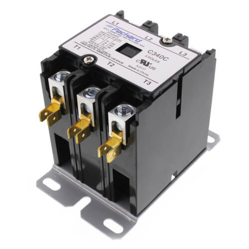 C340C - Packard C340C - 3 Pole Contactor (208/240V, 40 Amp)