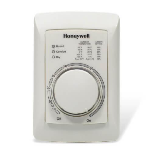 H8908ASPST - Honeywell H8908ASPST - Manual Humidistat Control