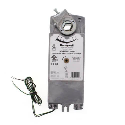 Wiring Honeywell Damper Actuators Wiring Diagram