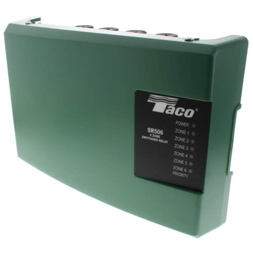 SR506-4 - Taco SR506-4 - 6 Zone Switching Relay