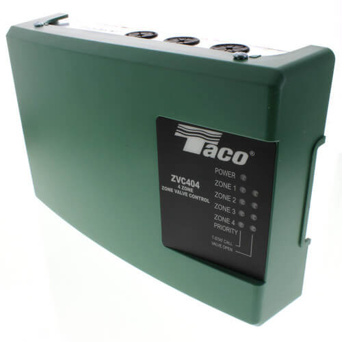 ZVC404-4 - Taco ZVC404-4 - 4 Zone Valve Control Module with Priority
